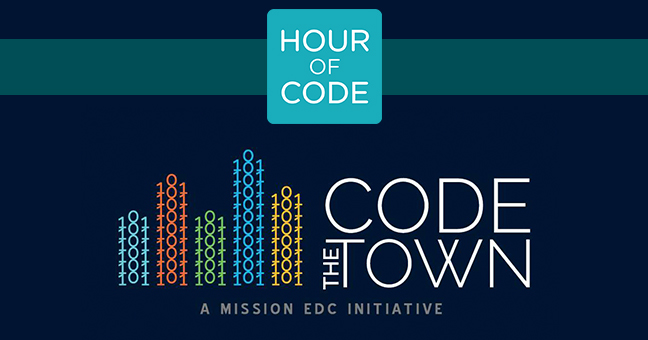 Hour Of Code and CodeTheTown
